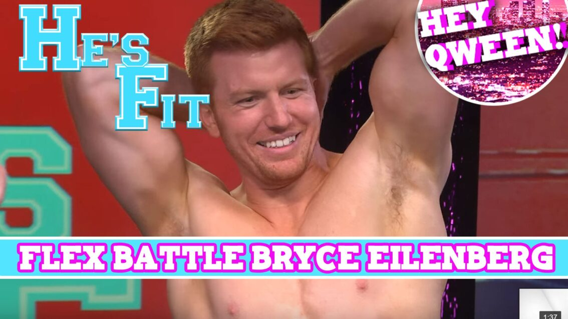 He's Fit! EXTENDED FLEX BATTLE with The Pit Crew's Bryce Eilenberg