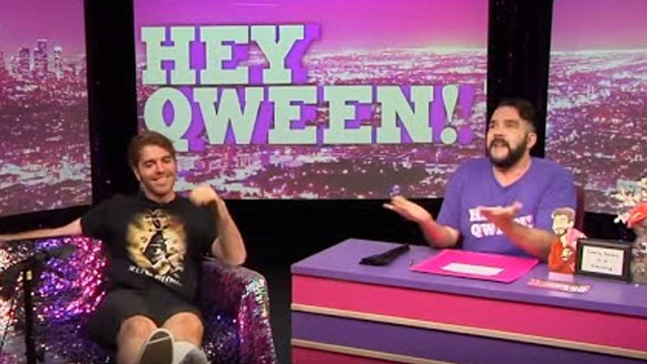 Shane Dawson on Hey Qween with Jonny McGovern