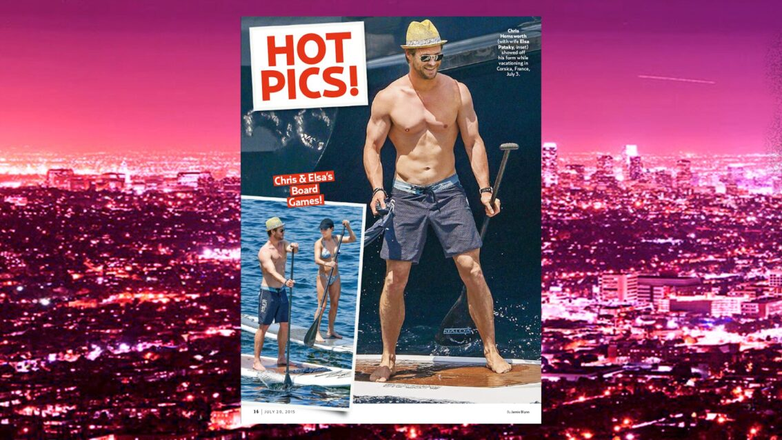 Extra HOT T:  Chris Hemsworth & Liam Hemsworth Brotherly Love