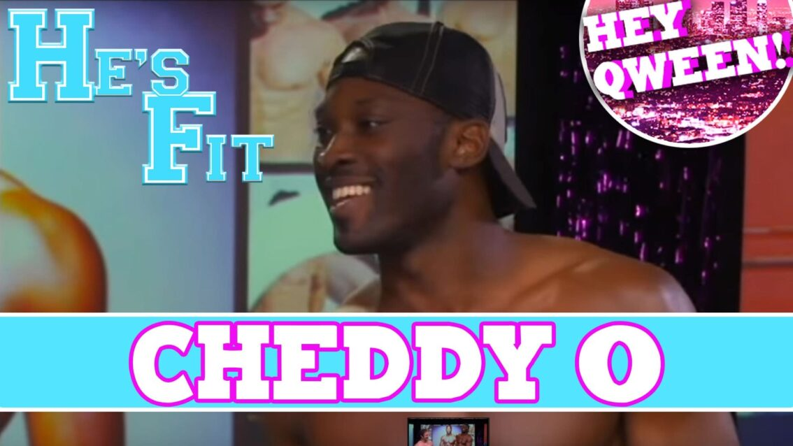 He's Fit!: Shirtless Fitness & Muscle Exploitation With Andrew Christian Model Cheddy O
