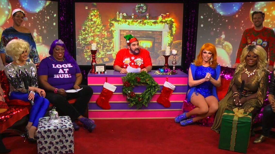 Hey Qween! Holiday Highlight: The 12 Days Of Christmas Hey Qween Remix featuring All the Qweens