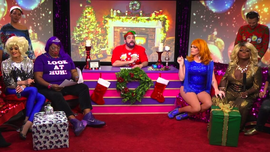 Hey Qween! Holiday Spectacular with Raja, Tammie Brown, Delta Work, Mayhem & Morgan McMichaels