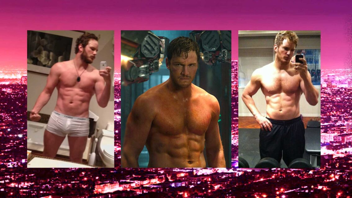Extra HOT T: Chris Pratt & Anna Farris On The Rocks?