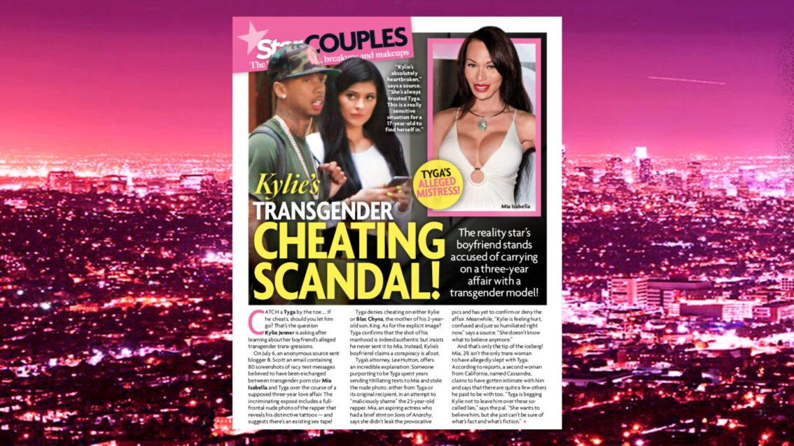 Extra HOT T: Kylie Jenner And Tyga Transgender Cheating Scandal