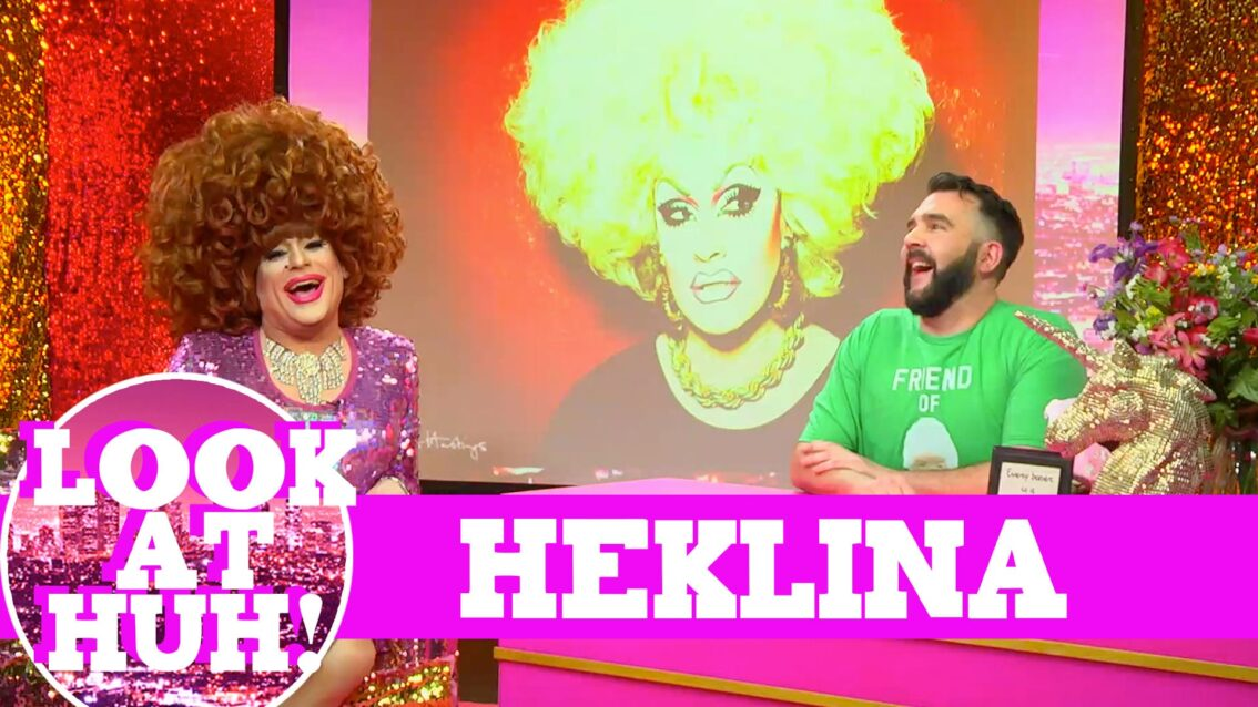Heklina: Look at Huh SUPERSIZED Pt 1 on Hey Qween! with Jonny McGovern