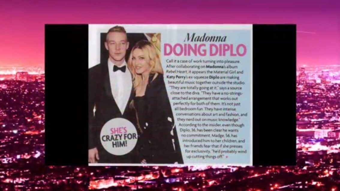 Extra Hot T: Madonna Dating Diplo?