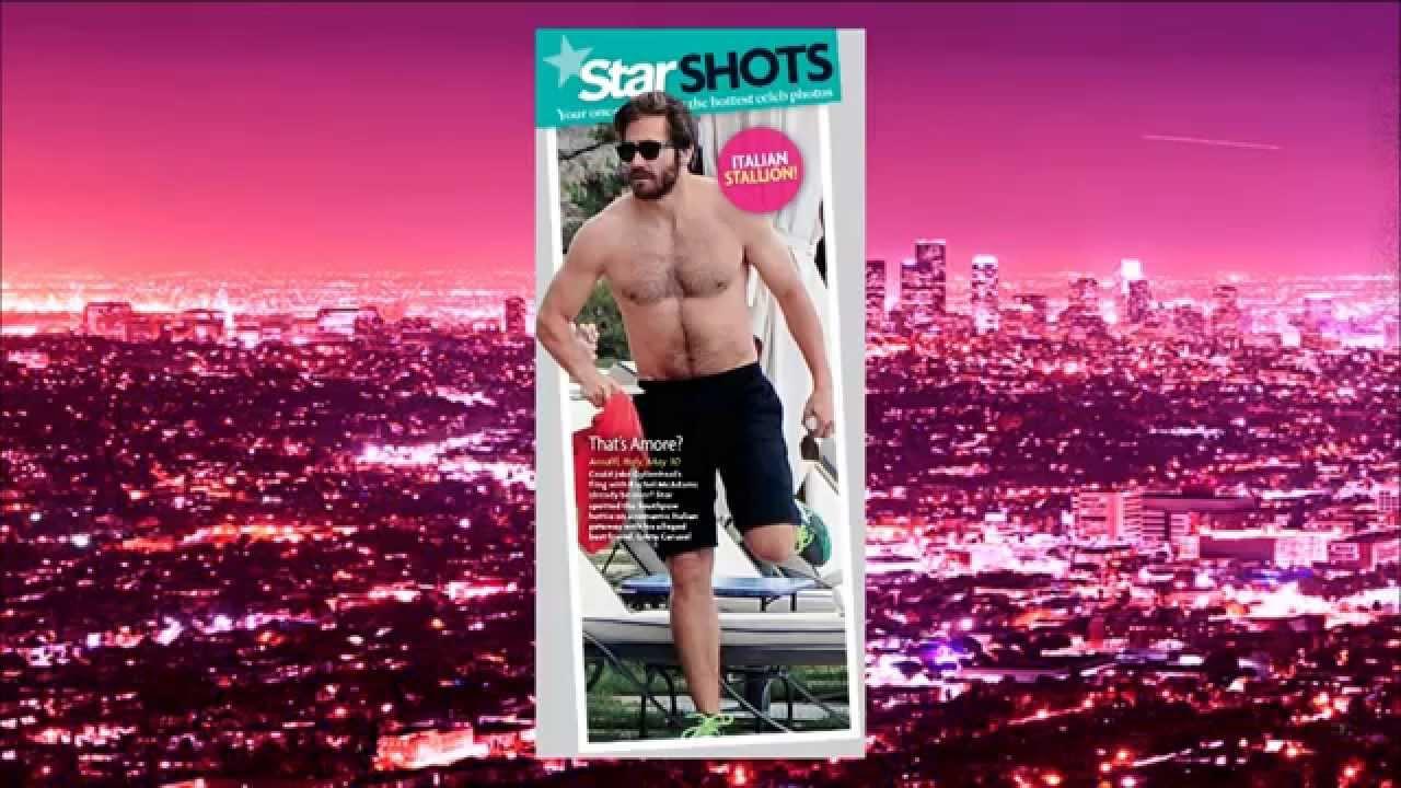 Extra HOT T with Alaska Thunderfuck: Jake Gyllenhaal's Hairy Body