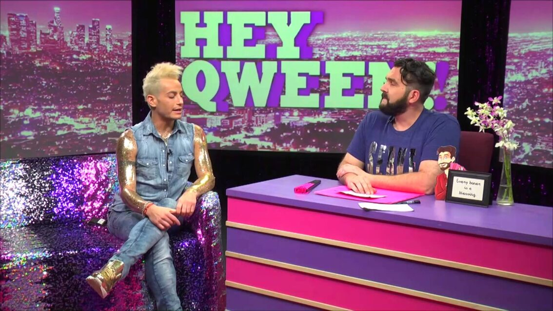 Frankie Grande on Hey Qween! BONUS: Frankie Loves Vanessa Williams