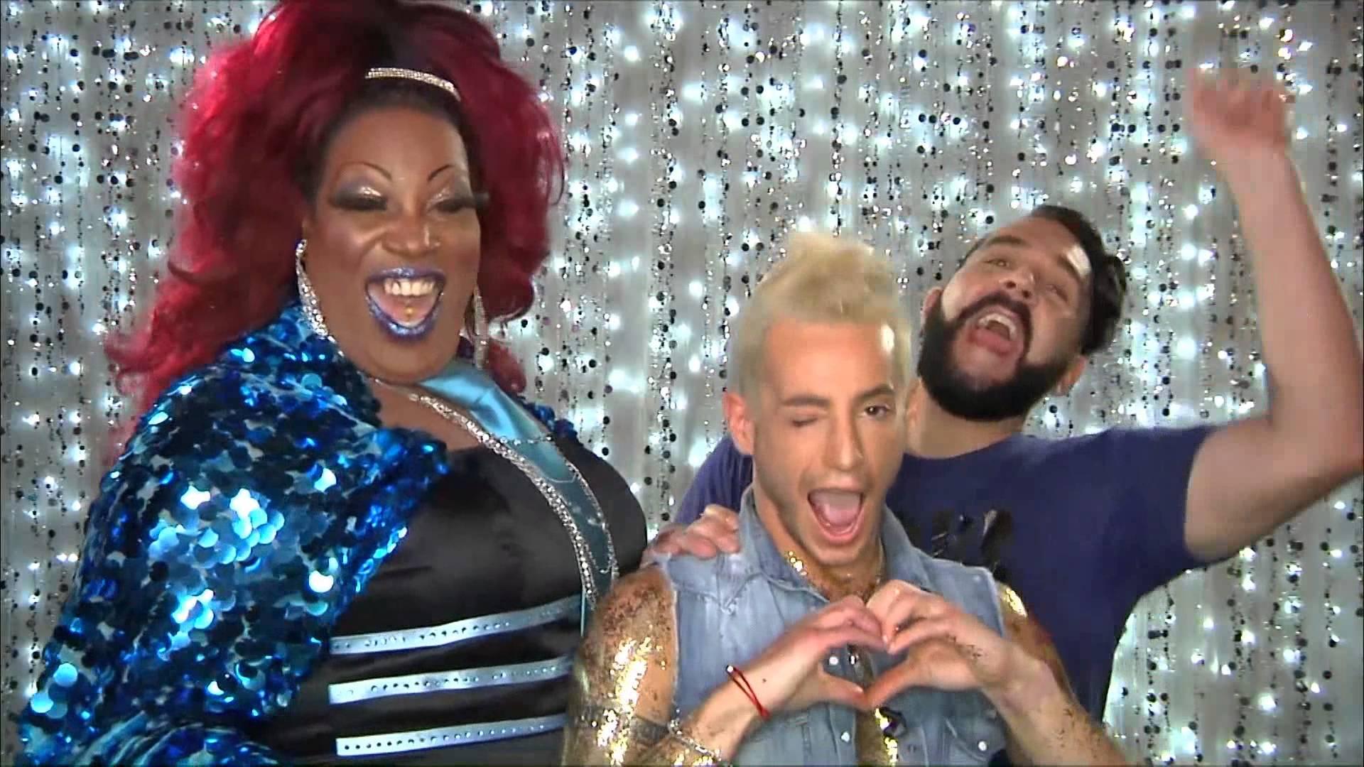 Frankie Grande on Hey Qween! PROMO