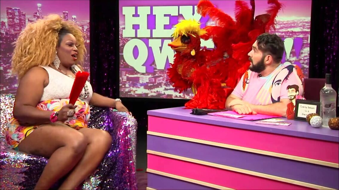 Hey Qween! BONUS: Jonny & Lady Red Meet Ms Fuego The Phoenix