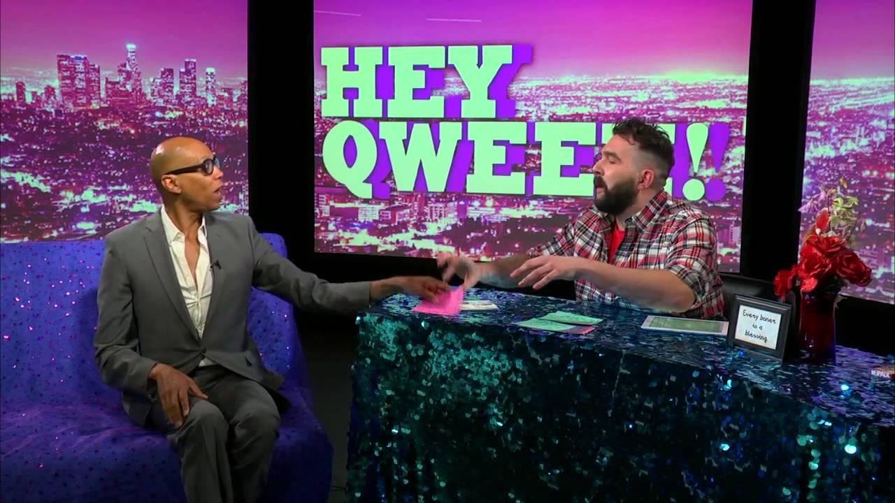 Hey Qween! BONUS: Jonny Takes RuPaul Back To His Roots!