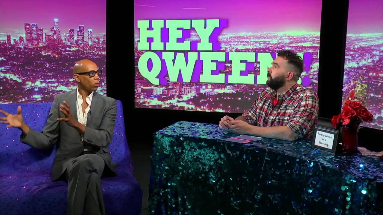 Hey Qween BONUS: RuPaul Talks Born Naked, Latoya Jackson, Martha Wash and Spits Some Major Wisdom!