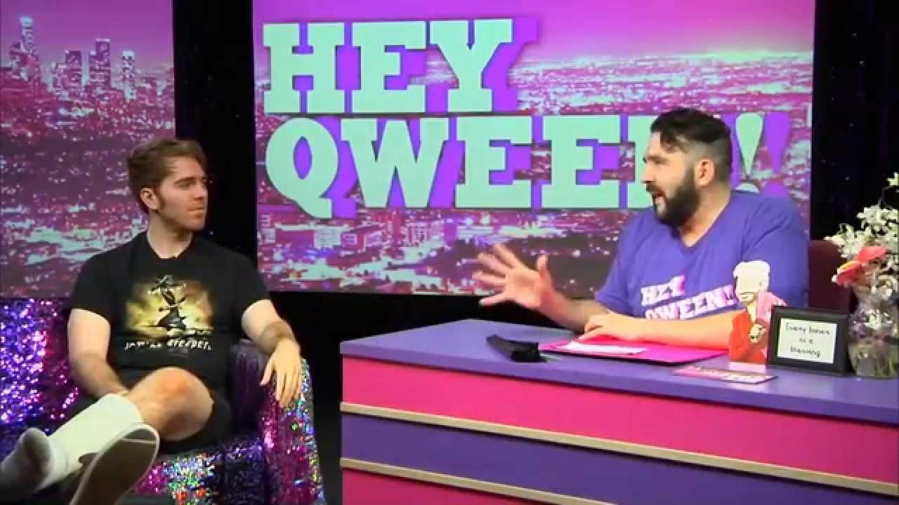 Hey Qween! BONUS: Shane Dawson VS Zachary Quinto