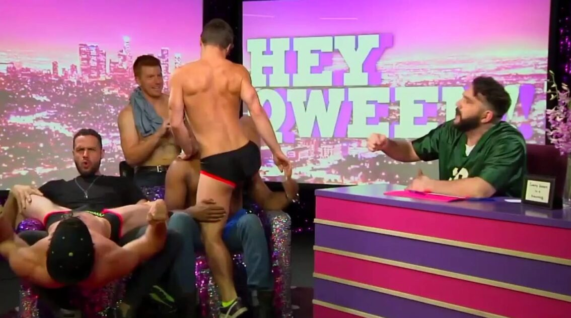Hey Qween! BONUS: The Pit Crew Gets Naked For Double Lap Dances