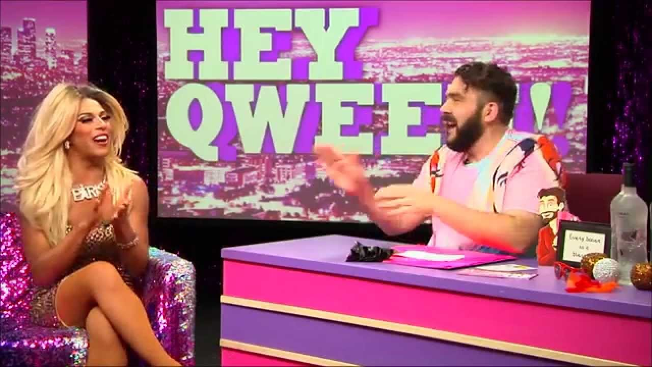 Hey Qween! HIGHLIGHT: Shangela On The Origin Of Her Drag Name