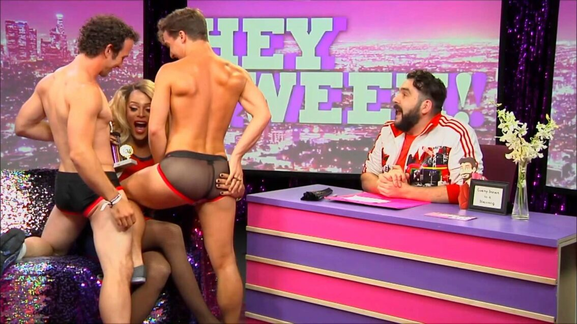 Hey Qween! HIGHLIGHT  Tyra Sanchez Gets A Double Lap Dance