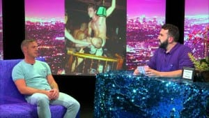 Jake Shears from Scissor Sisters On Hey Qween With Jonny McGovern Photo