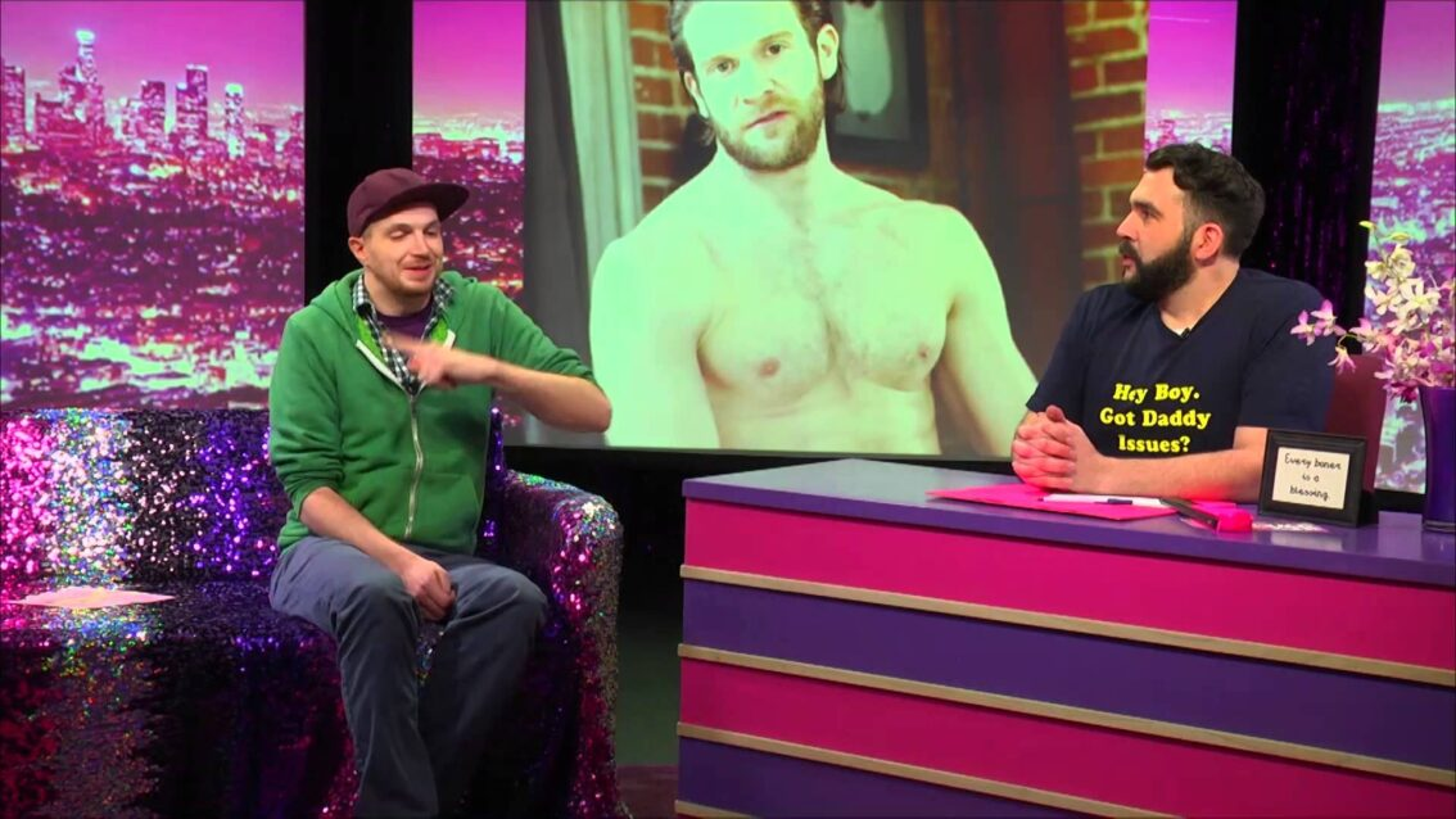 Jiz: Look at Huh on Hey Qween with Jonny McGovern