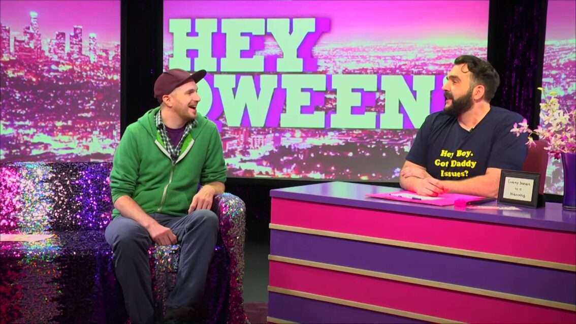 Jiz on Hey Qween with Jonny McGovern