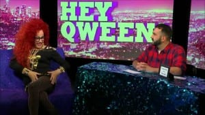 Chi Chi LaRue On Hey Qween With Jonny McGovern Photo