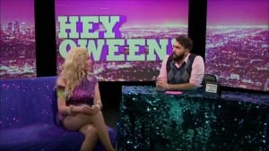 Calpernia Addams On Hey Qween With Jonny McGovern Photo