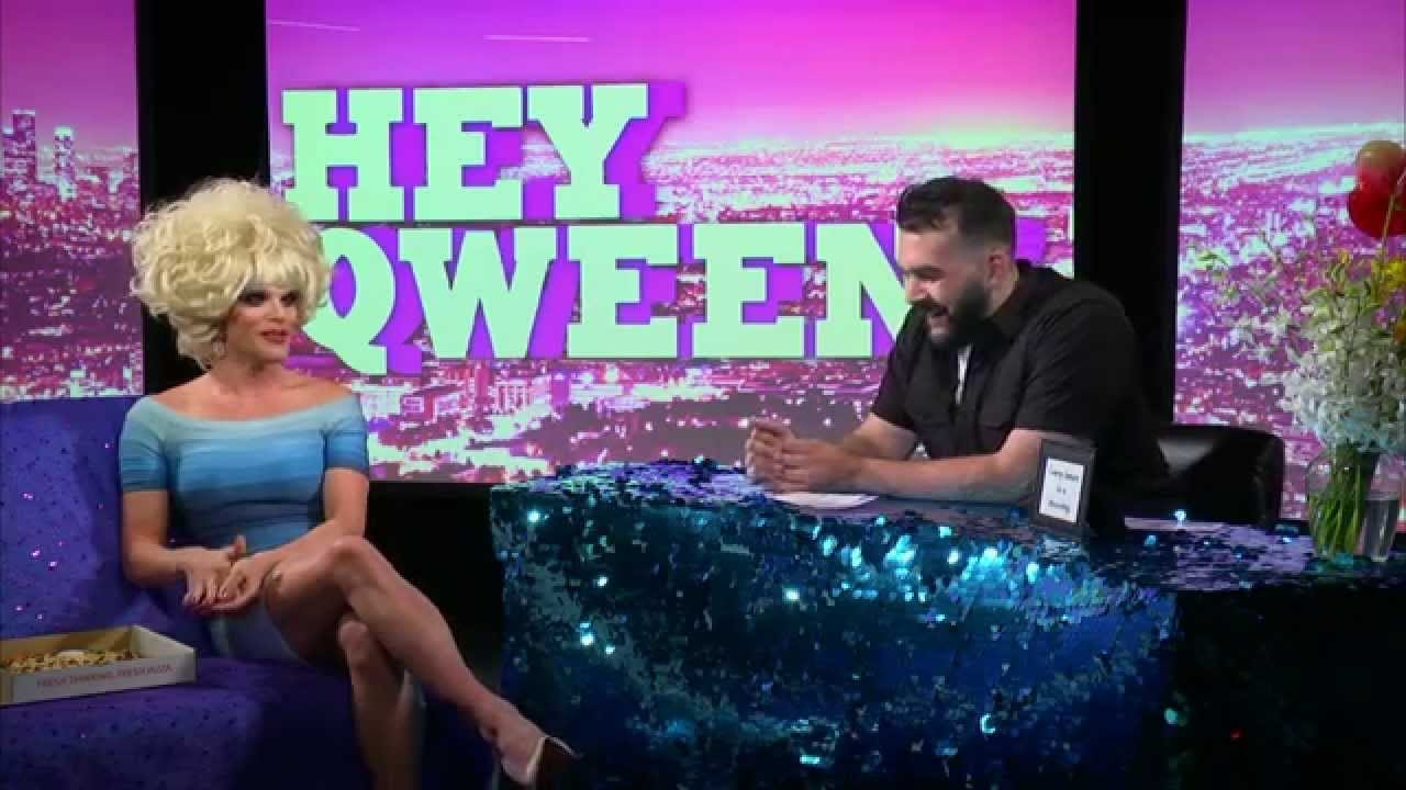 Jonny McGovern's Hey Qween! with Willam Belli from RuPaul's Drag Race