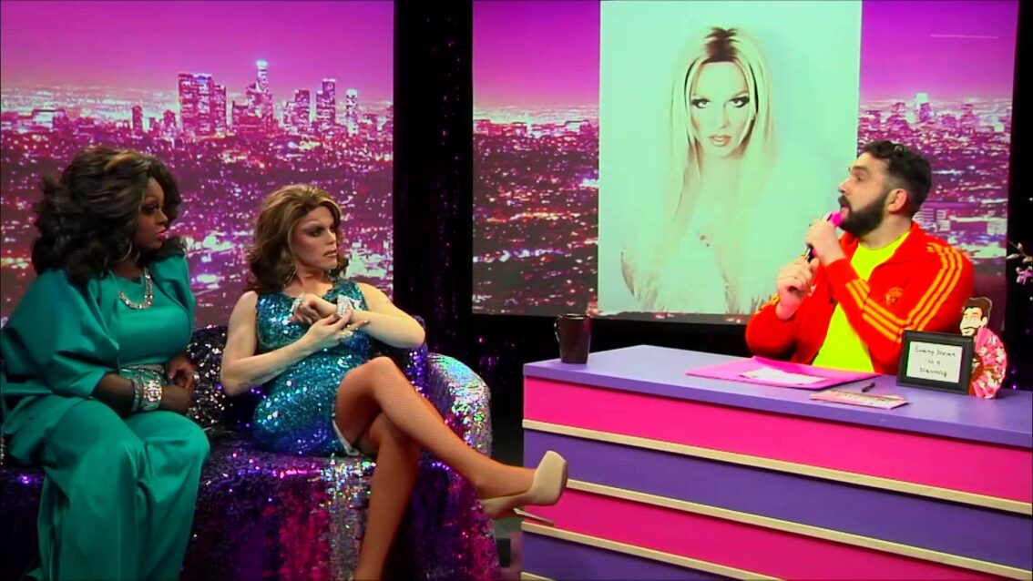 Morgan McMichaels: Look at Huh SUPERSIZED PT 2 on Hey Qween with Jonny McGovern