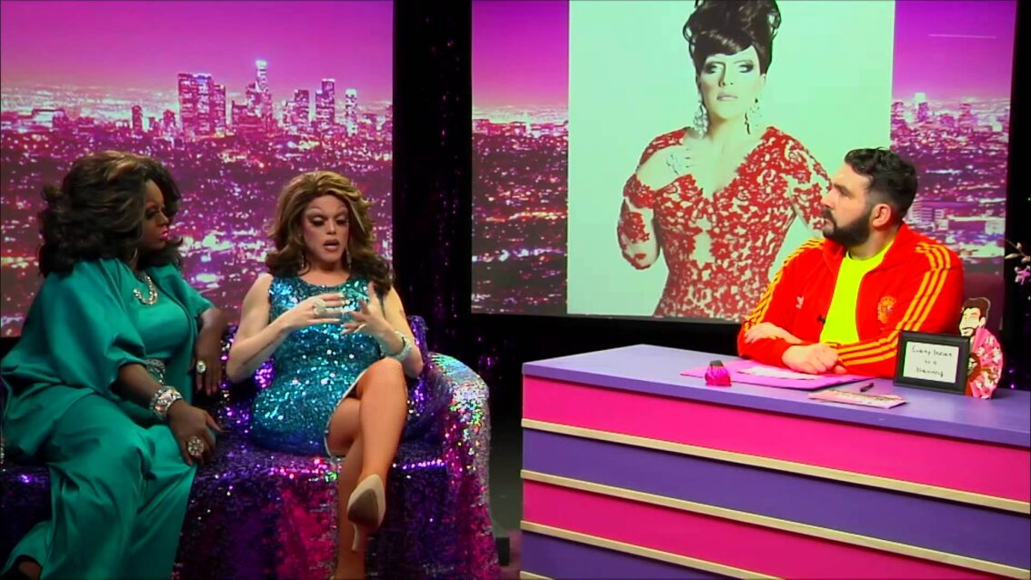 Morgan McMichaels: Look at Huh SUPERSIZED PT 1 on Hey Qween with Jonny McGovern