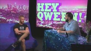 Porn Star Christopher Daniels On Hey Qween With Jonny McGovern Photo