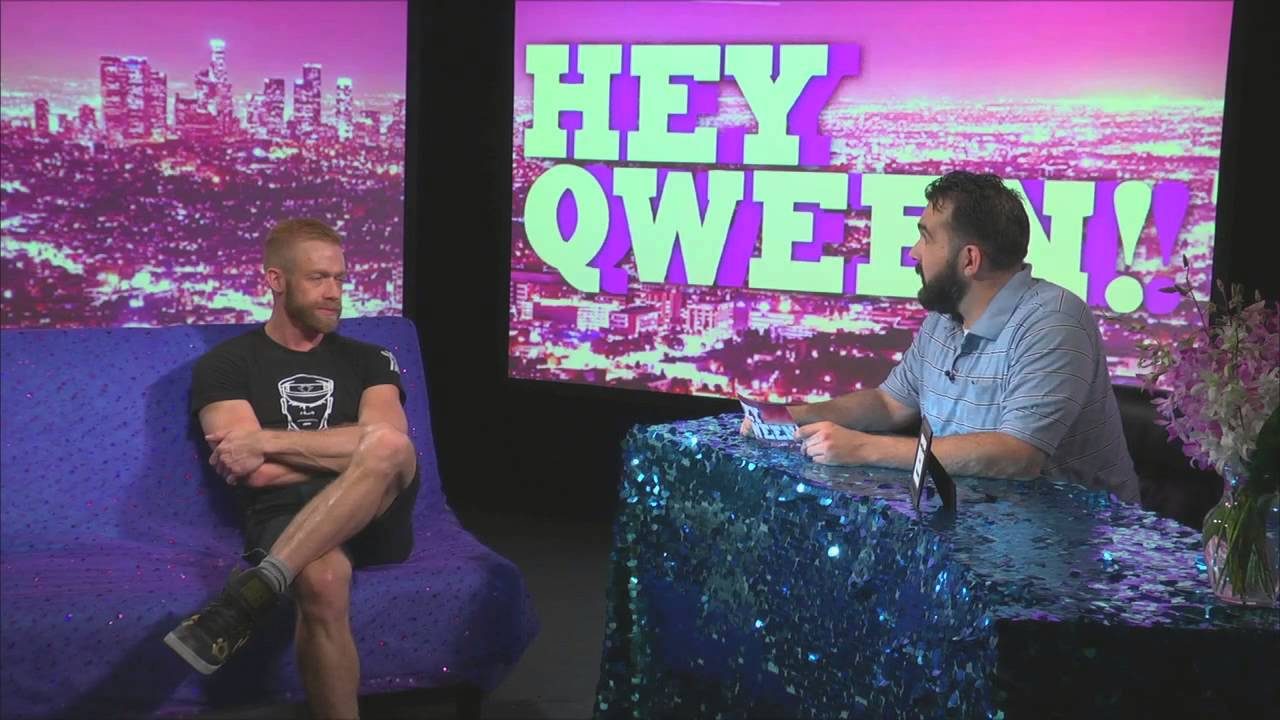Porn Star Christopher Daniels On Hey Qween With Jonny McGovern