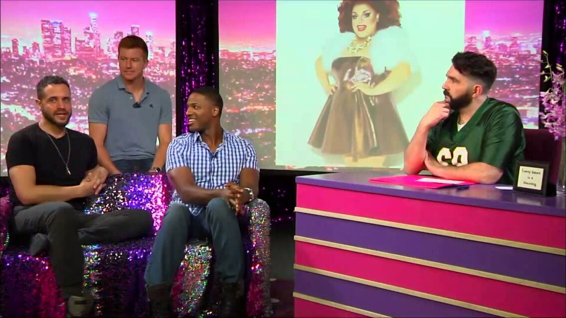 RuPauls Drag Race PitCrew: Look at Huh on Hey Qween with Jonny McGovern