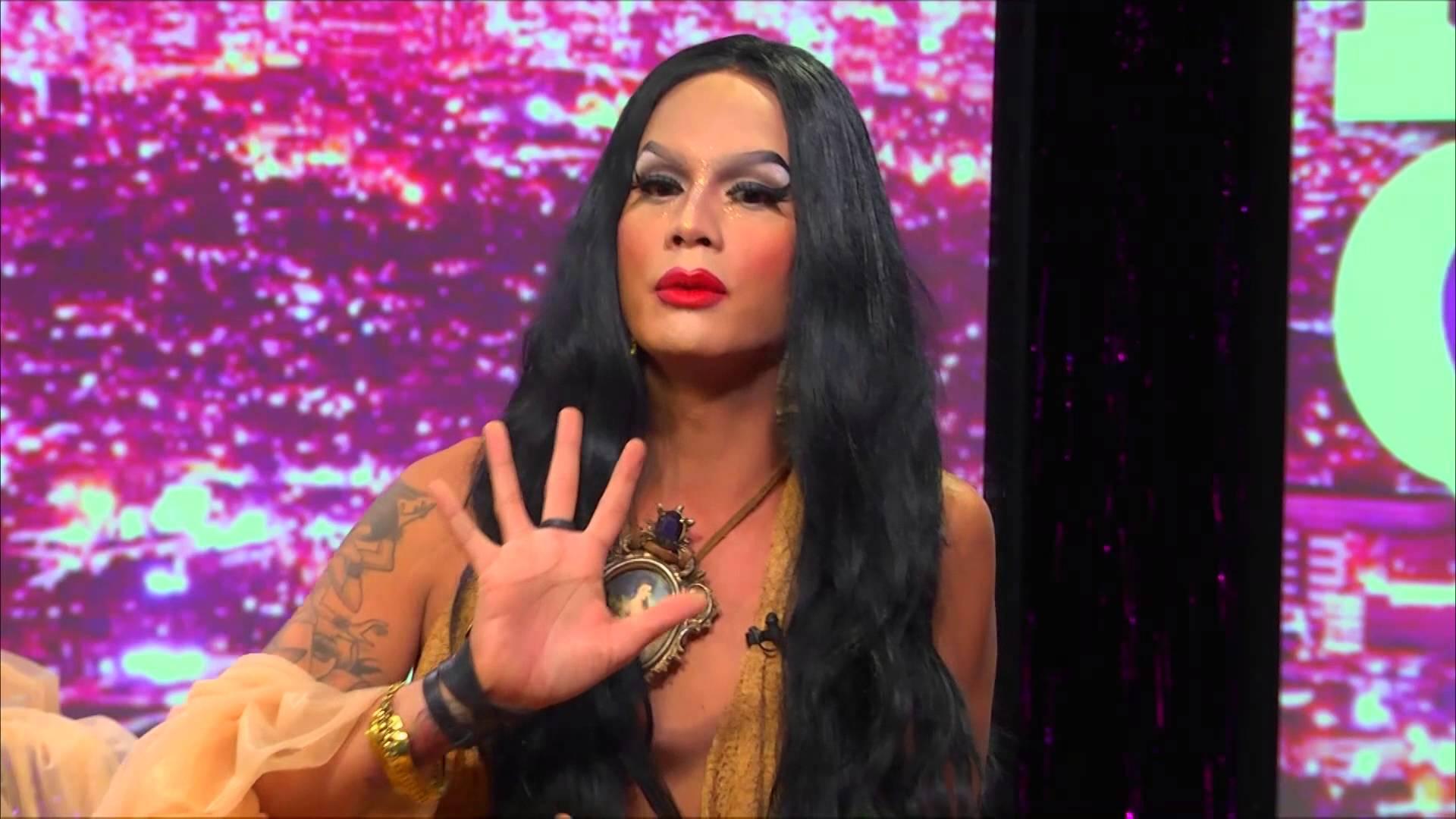 RuPaul's Drag Race Star Raja On Hey Qween With Jonny McGovern