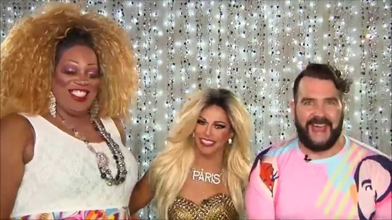 Shangela on Hey Qween PROMO