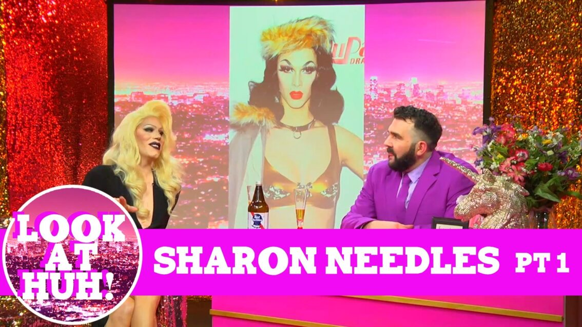 Sharon Needles: Look at Huh SUPERSIZED Pt 1 on Hey Qween! with Jonny McGovern