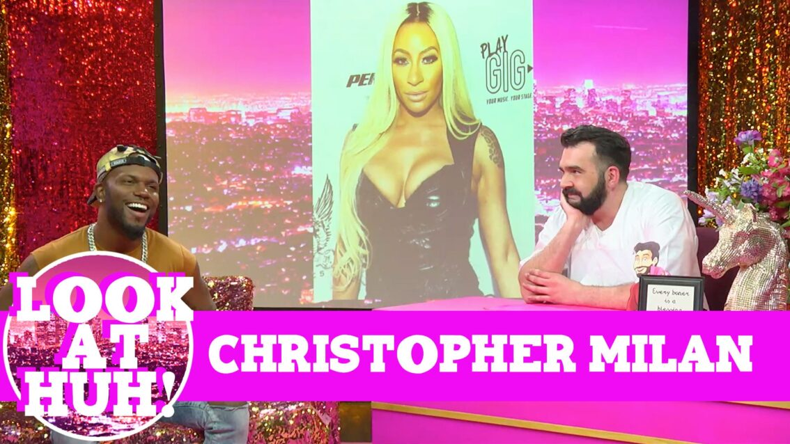Milan Christopher: Look at Huh on Hey Qween! with Jonny McGovern