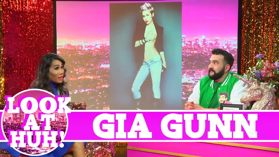 Gia Gunn: Look at Huh SUPERSIZED Pt 1 on Hey Qween! with Jonny McGovern