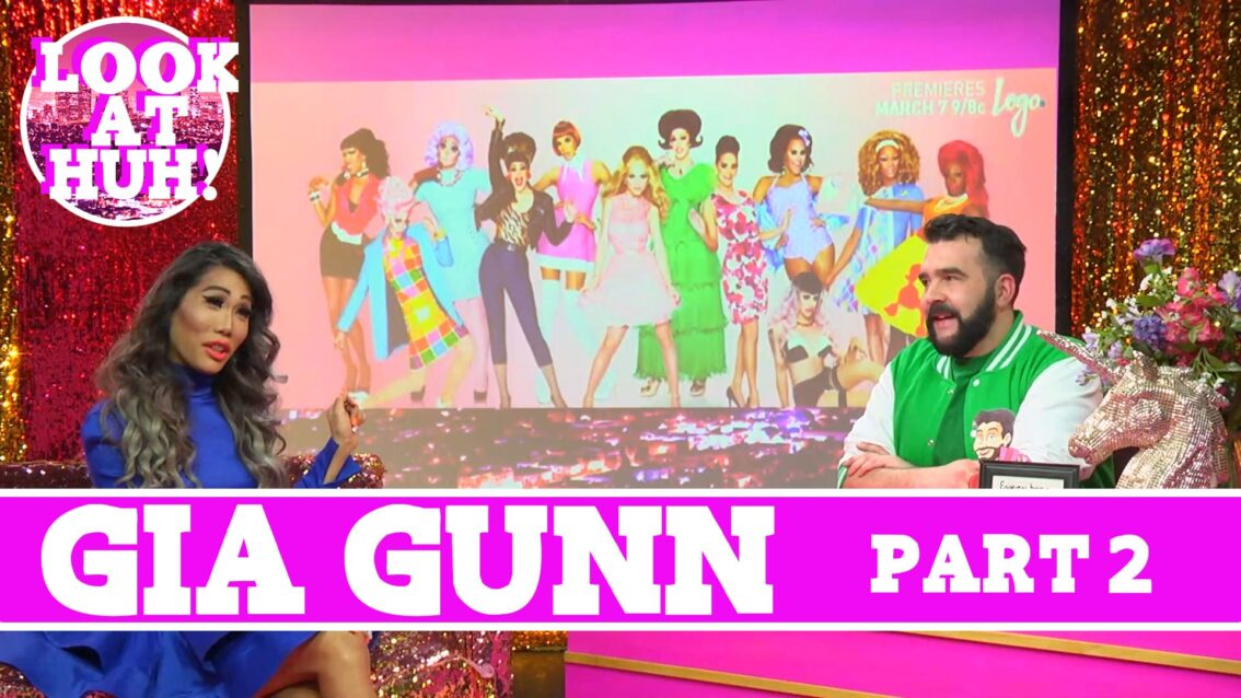 Gia Gunn: Look at Huh SUPERSIZED Pt 2 on Hey Qween! with Jonny McGovern