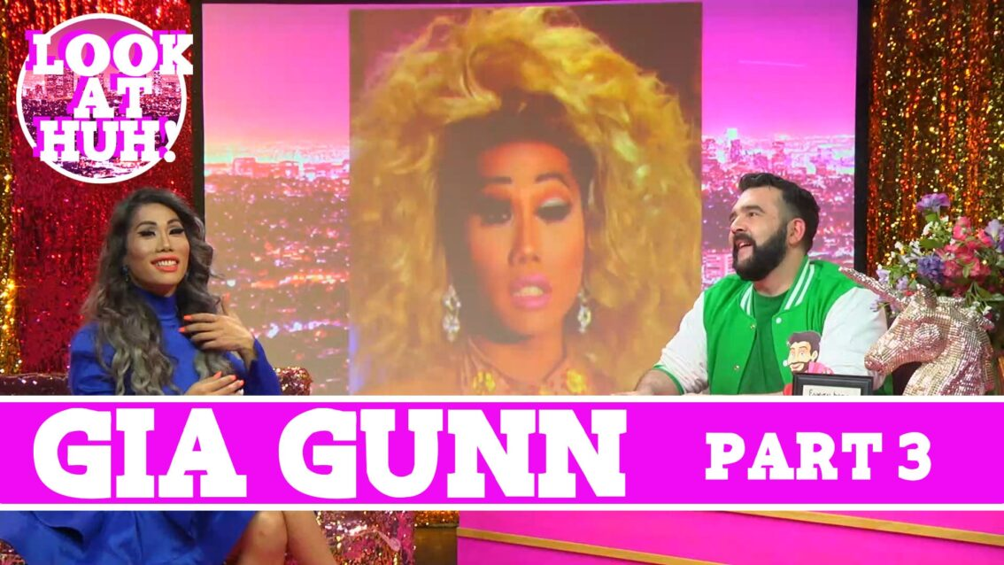 Gia Gunn: Look at Huh SUPERSIZED Pt 3 on Hey Qween! with Jonny McGovern