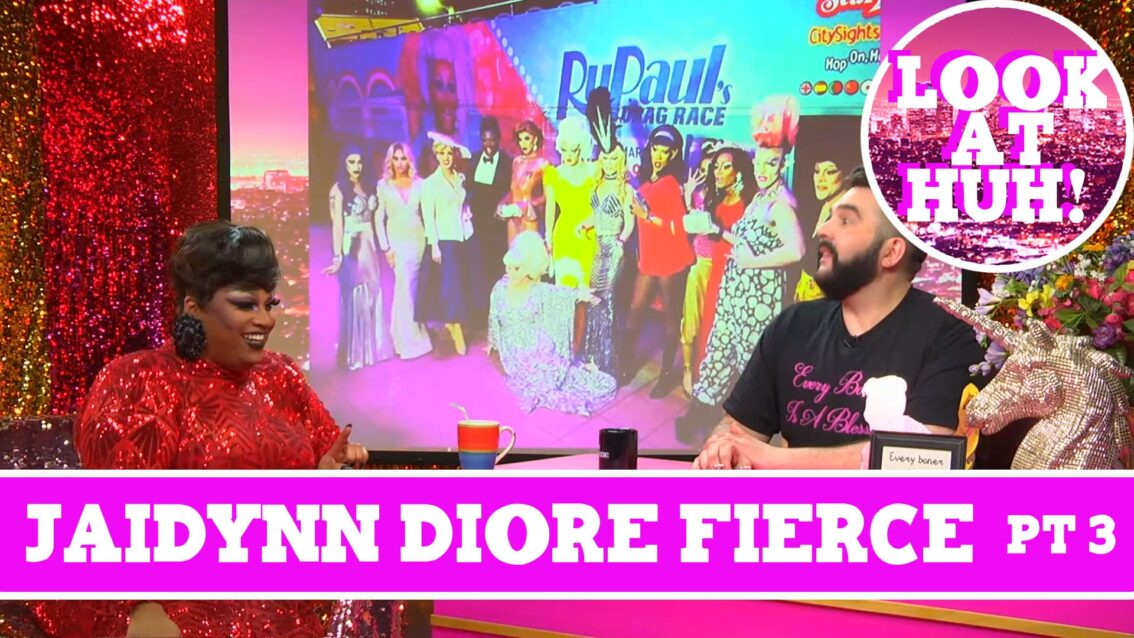 Jaidynn Diore Fierce: Look at Huh SUPERSIZED Pt 3 on Hey Qween! with Jonny McGovern
