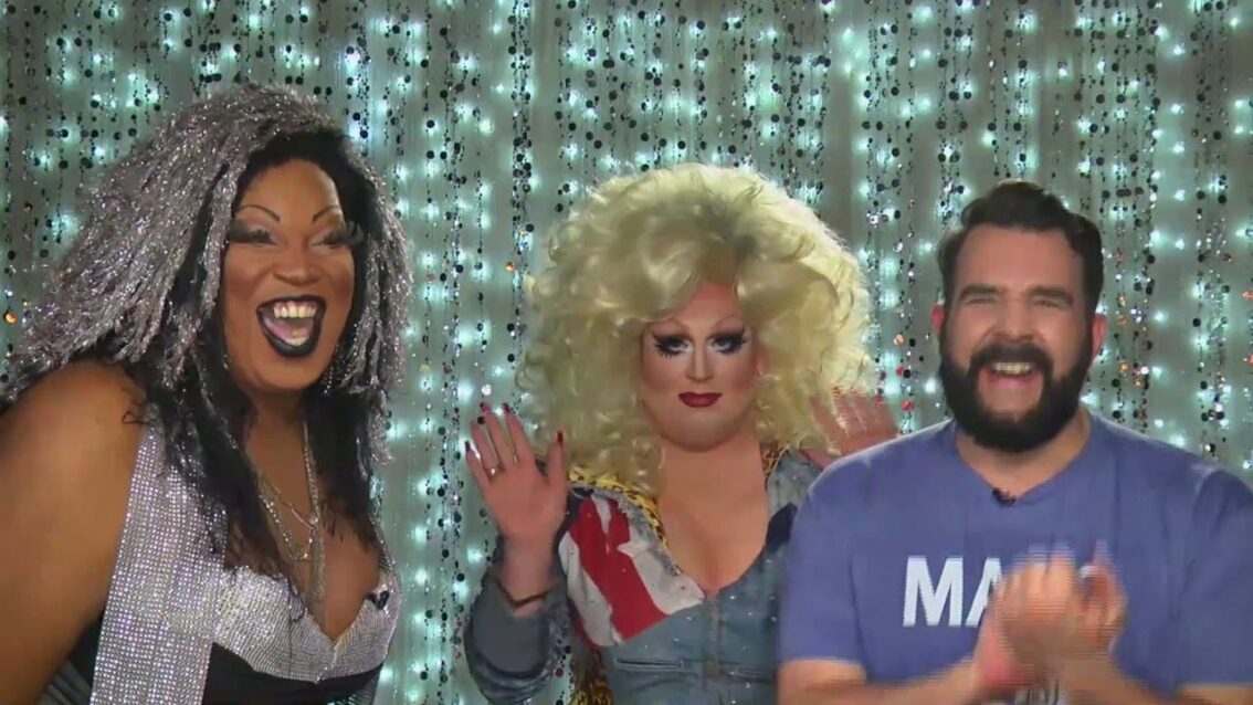 Mimi Imfurst and Love, Connie on Hey Qween with Jonny McGovern! Promo!