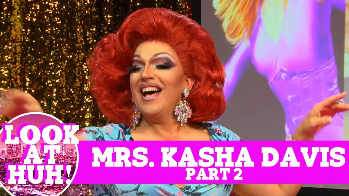 Mrs. Kasha Davis: Look at Huh SUPERSIZED Pt 2 on Hey Qween! with Jonny McGovern