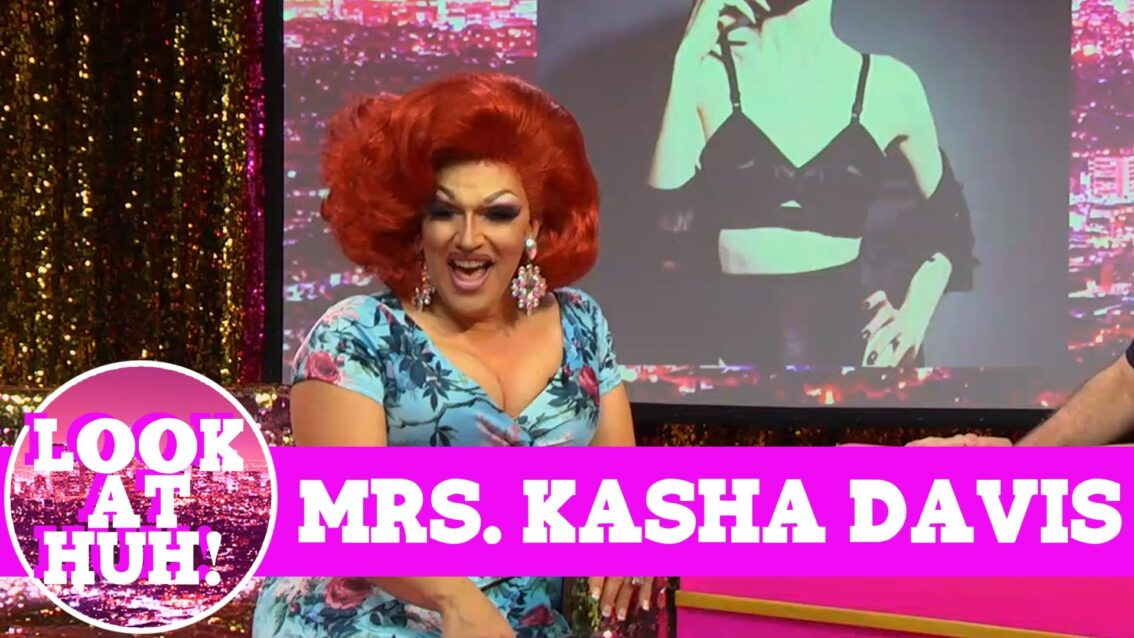 Mrs. Kasha Davis: Look at Huh SUPERSIZED Pt 1 on Hey Qween! with Jonny McGovern
