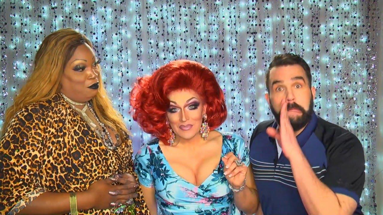 RuPaul's Drag Race Star Mrs. Kasha Davis on Hey Qween with Jonny McGovern! Promo!