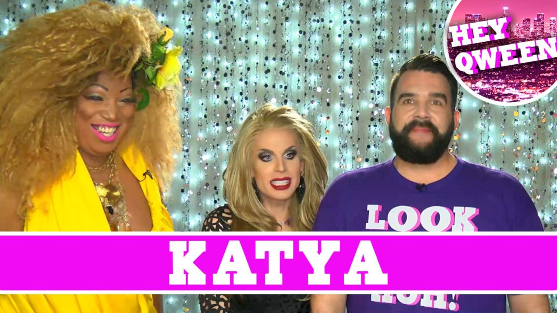 Katya on Hey Qween with Jonny McGovern: PROMO!