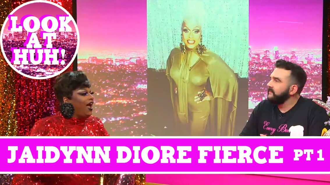 Jaidynn Diore Fierce: Look at Huh SUPERSIZED Pt 1 on Hey Qween! with Jonny McGovern