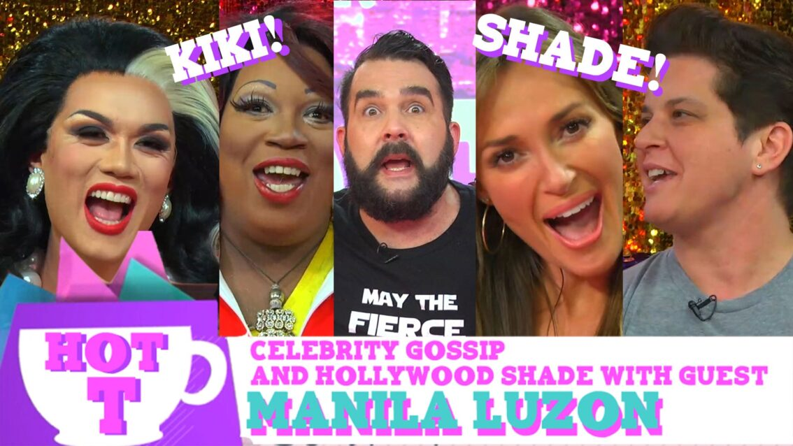 Manila Luzon on HOT T: Celebrity Gossip & Hollywood Shade Season 2 Episode 4!