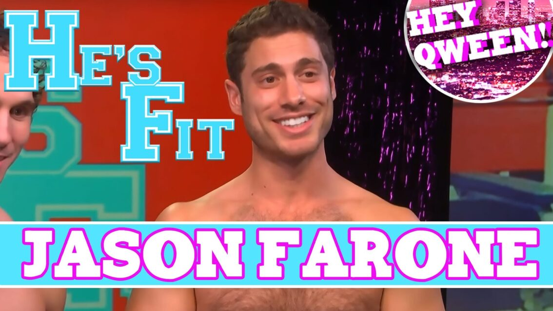 Comedian Jason Farone on HE'S FIT!: Shirtless Fitness with Greg McKeon