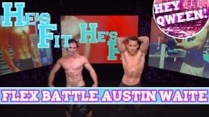 He's Fit EXTENDED FLEX BATTLE with GoGo Dancer Austin Waite Photo