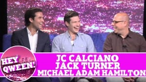 JC Calciano, Jack Turner & Michael Adam Hamilton on Hey Qween With Jonny McGovern Photo
