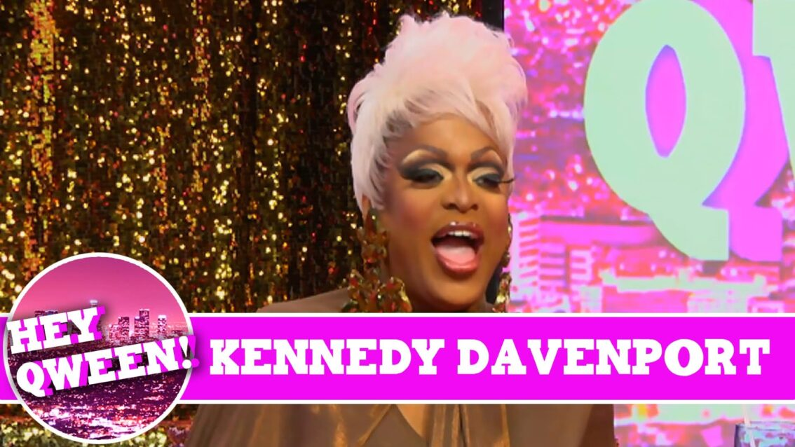 Kennedy Davenport on Hey Qween with Jonny McGovern!!!
